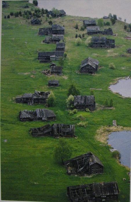 больше в деревне никто не живёт