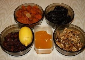 ингредиенты для полуфабриката