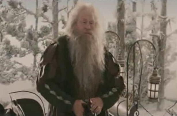 волшебный бородач с подарками