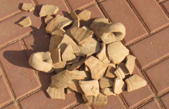 глиняный лом